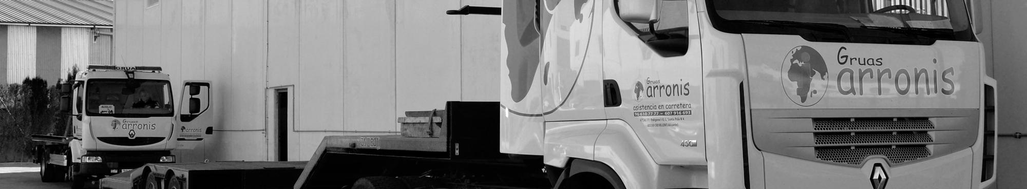empresa gruas servicios asistencia carretera