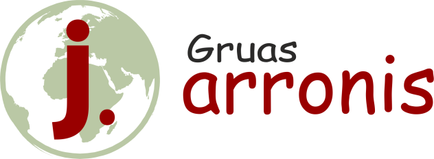 logotipo empresa gruas arronis