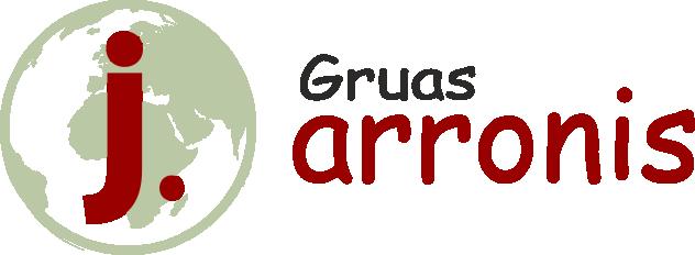 logotipo empresa gruas arronis